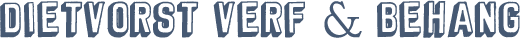 Dietvorst Verf & Behang logo