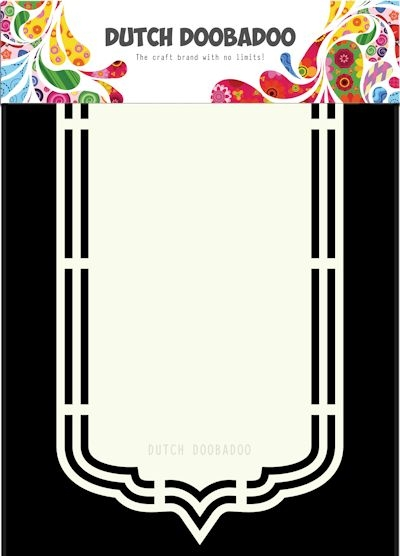 DDBD- Dutch Shape Art- Bookmark A5: 470.713.164