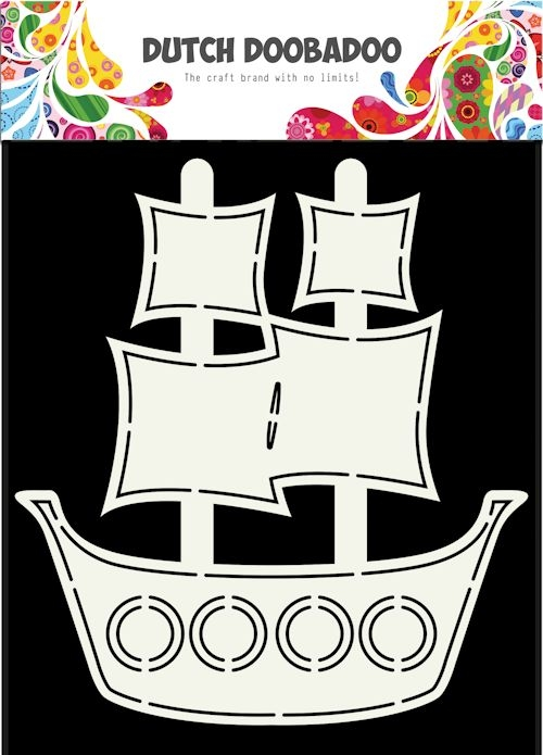 DDBD- Card Art- Pirate Schip A5: 470.713.685