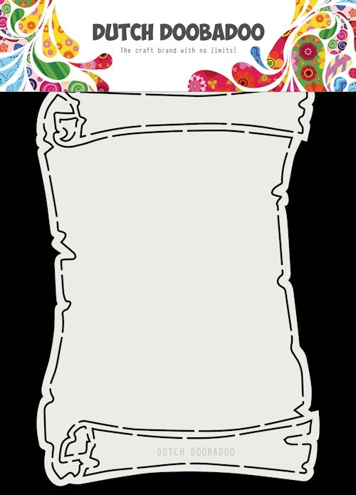 DDBD- Fold Card Treasure Map A5: 470.713.718