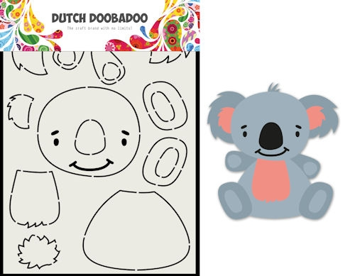 DDBD- Card Art Built up Koala: 470.713.837