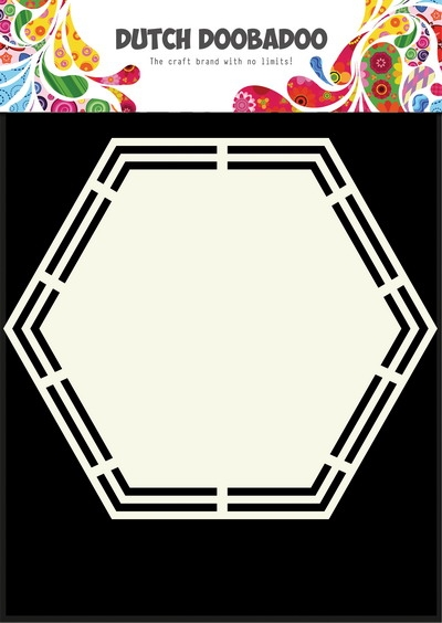 Dutch Doobadoo- Dutch Shape Art Hexagon- A5: 470.713.148