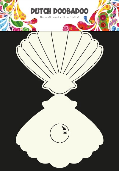 Dutch Doobadoo- Dutch Card Art- Conch- A5: 470.713.635