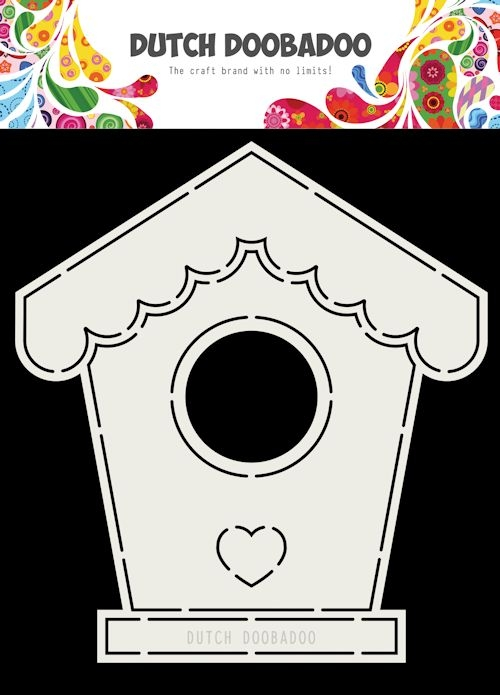 DDBD- Card Art Birdhouse A5: 470.713.710