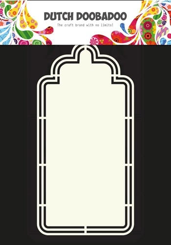 Dutch Doobadoo- Shape Art stencil Frames label XL A4: 470.713.138