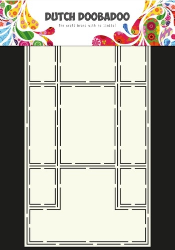 Dutch Doobadoo- Art stencil Trifold: 470.713.316