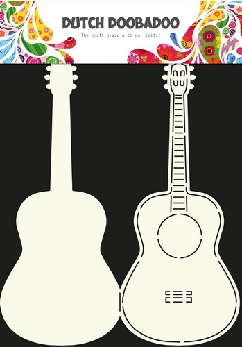 Dutch Doobadoo- Crd Art Stencil Guitar: 470.713.613