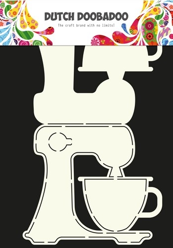 Dutch Doobadoo- Art stencil Keuken machine: 470.713.617