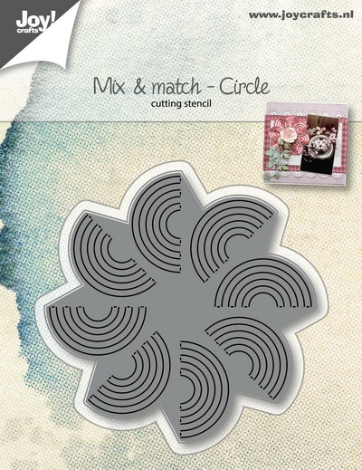 Joy- Stencil- Mix & Match cirkel: 6002/1066