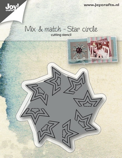 Joy- Stencil- Mix & Match Stercirkel: 6002/1067