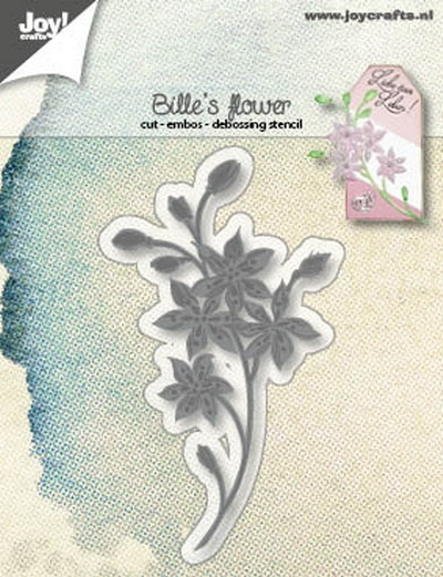 Joy- Stencil- Bille's bloem: 6002/1249