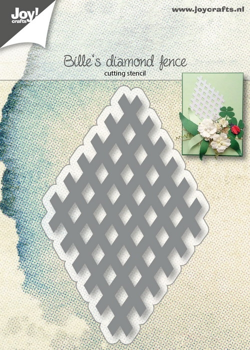 Joy- Stencil- Bille's raster element diamant: 6002/1392