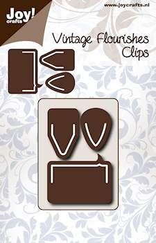 Joy- Vintage Flourishes- Clips: 6003/0071