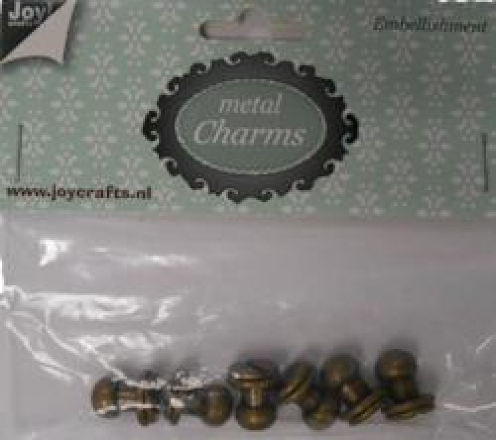 Joy- metal charms (6)- knopen: 6350/0305