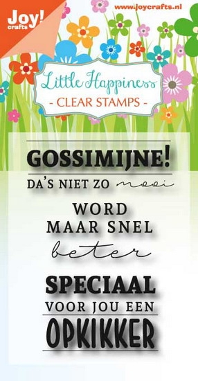 Joy- Clearstempel- Gossimijne!: 6410/0473