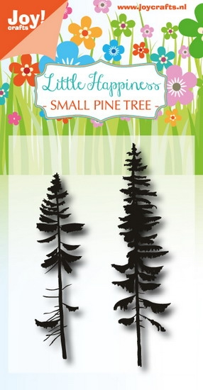 Joy- Clearstempel- LH Small Pine tree: 6410/0489