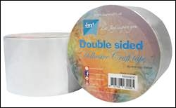 Joy- Dubbelzijdig tape 65 mm x 15 m: 6500/0030