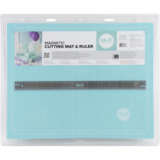 We R Memory Keepers- Magnetic Cutting mat & Ruler- Self healing