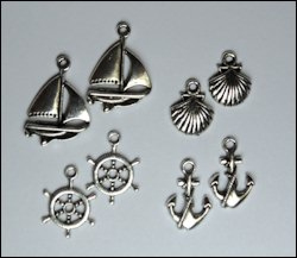 Marianne Design set Charms Maritiem : JU0891