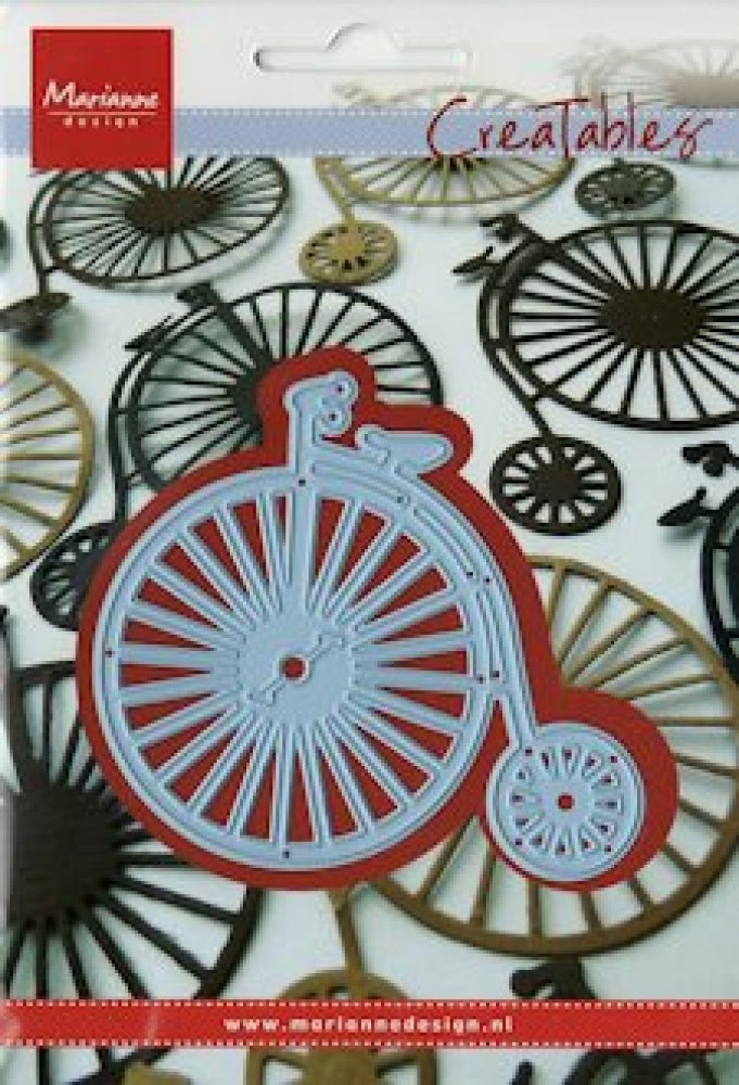 Marianne Design Creatable, vintage bicycle: LR0262