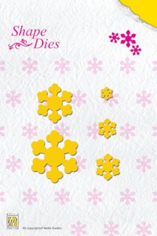 Nellie`s Choice, Shape Dies folding flower 1: SD022