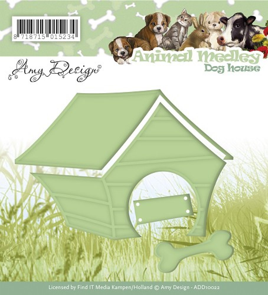 Amy Design- Die- Dog House: ADD10022