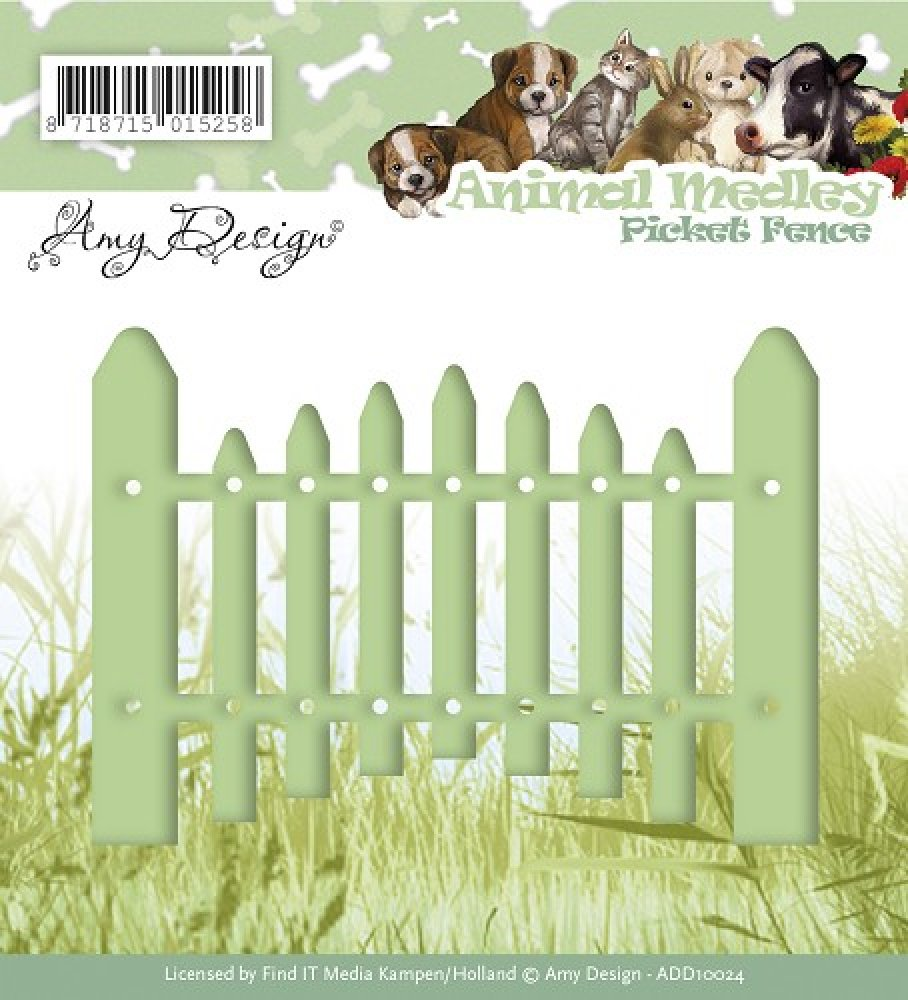 Amy Design- Die- Picket Fence: ADD10024