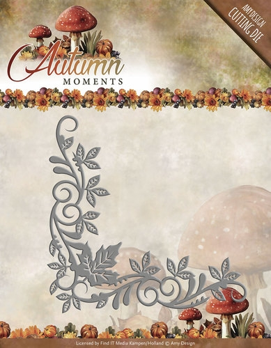 Amy Design- Die- Autumn Moments- Corner; ADD10073
