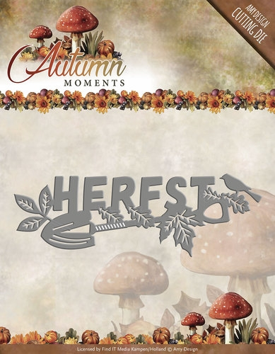 Amy Design- Die- Autumn Moments- Herfst; ADD10075