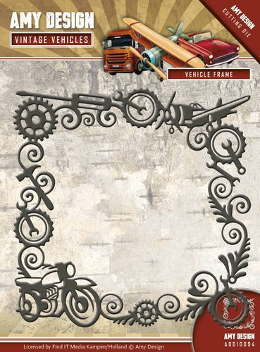 Amy Design- Die- Vintage Vehicles- Vehicle Frame: ADD10094