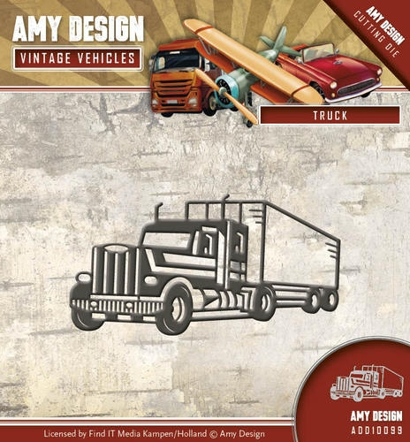 Amy Design- Die- Vintage Vehicles- Truck: ADD10099
