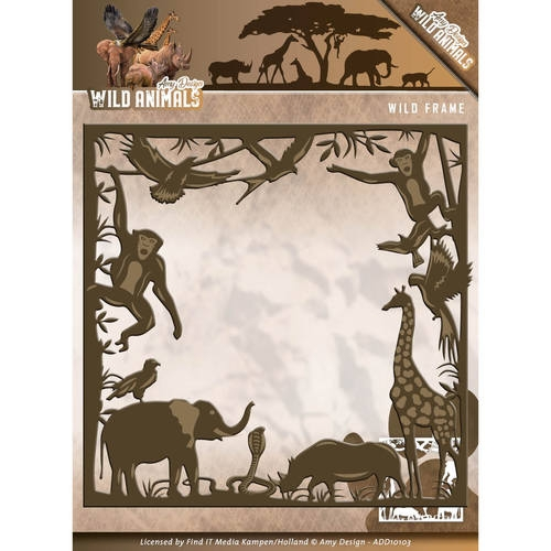Amy Design- Die- Wild Animals- Wild Frame: ADD10103