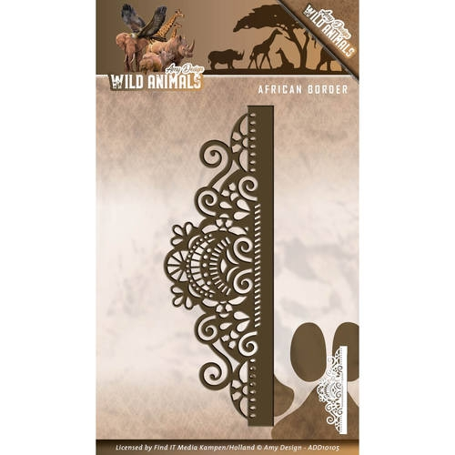 Amy Design- Die- Wild Animals- African Border : ADD10105