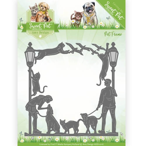 Amy Design- Die- Sweet Pet Frame: ADD10116