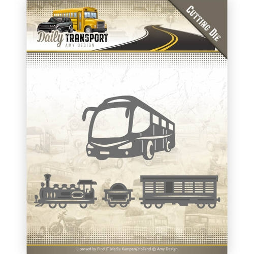 Amy Design- Dies- Daily Transport-  Public Transport: ADD10131