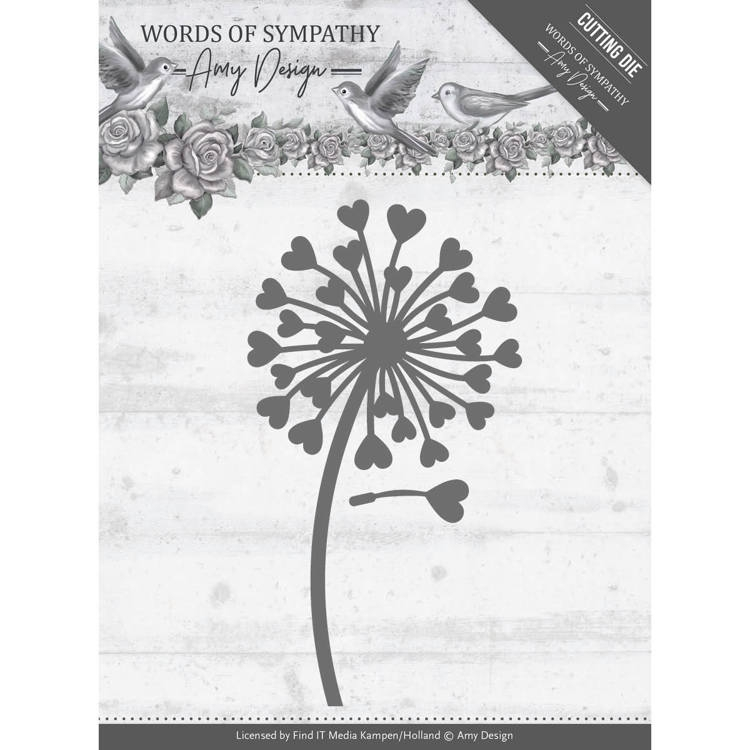 Amy Design- Dies- Sympathy Flower: ADD10155