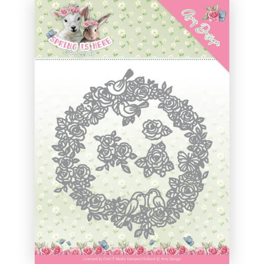 Amy Design- Dies- Circle of Roses: ADD10166