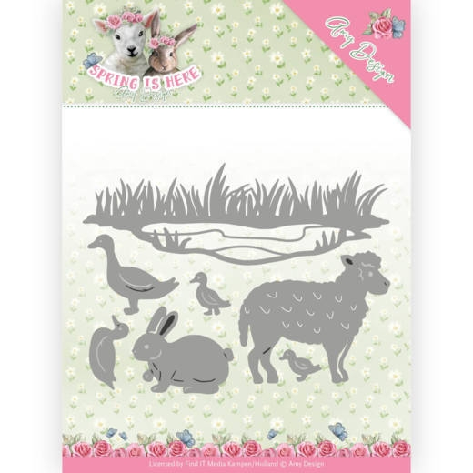 Amy Design- Dies- Spring Animals: ADD10167