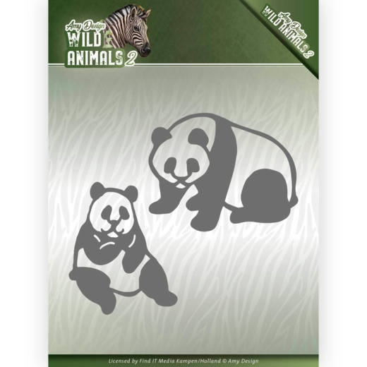 Amy Design- Dies- Panda Bear: ADD10180
