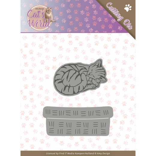 Amy Design- Dies- Sleeping Cats: ADD10188