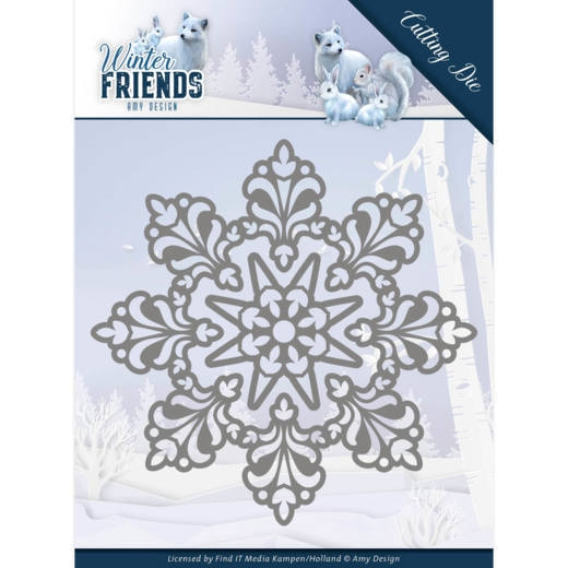 Amy Design- Dies- Snow Crystal: ADD10191