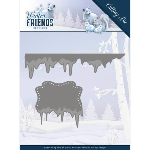 Amy Design- Dies- Ice border: ADD10192
