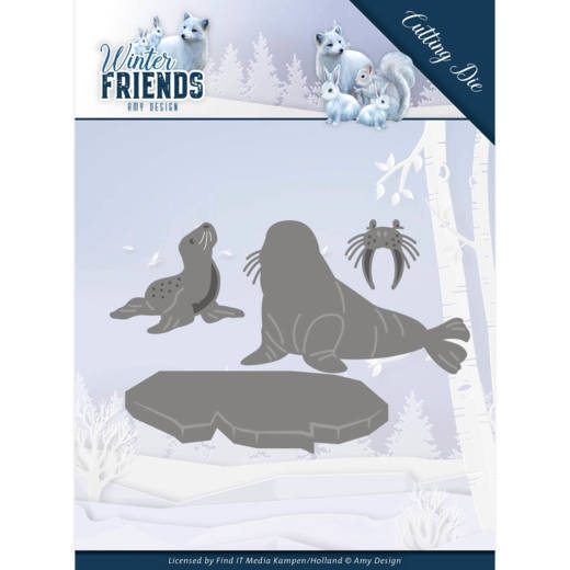 Amy Design- Dies- Polar Friends: ADD10194