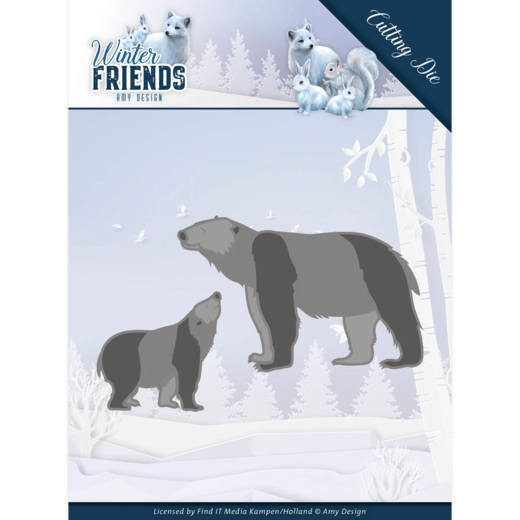 Amy Design- Dies- Polar Bears: ADD10195