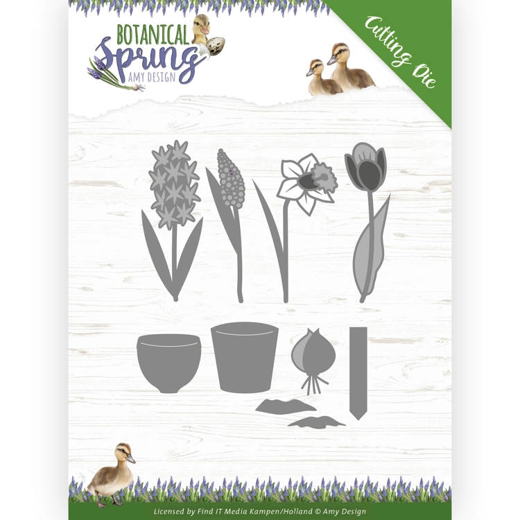 Amy Design- Dies- Bulbs and flowers; ADD10199