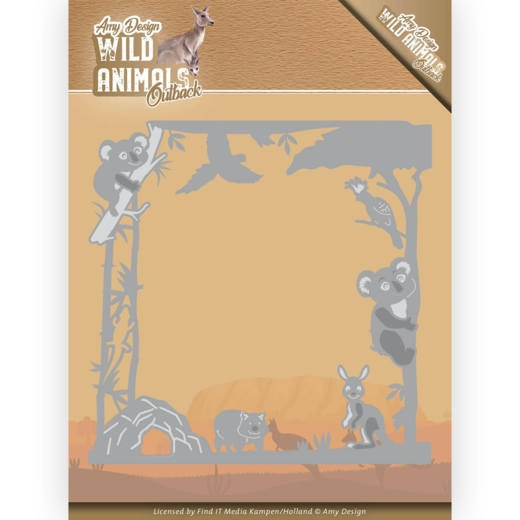 Amy Design- Dies- Wild Animals Outback- Koala Frame: ADD10203