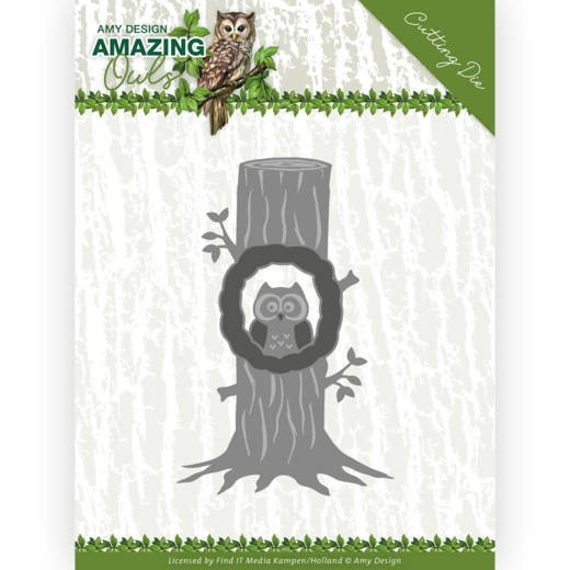 Amy Design- Dies- Owl in Tree: ADD10218