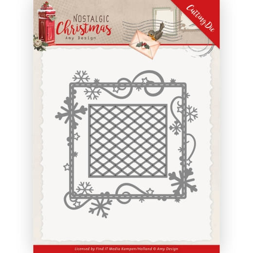 Amy Design- Dies- Snowflake Frame: ADD10221