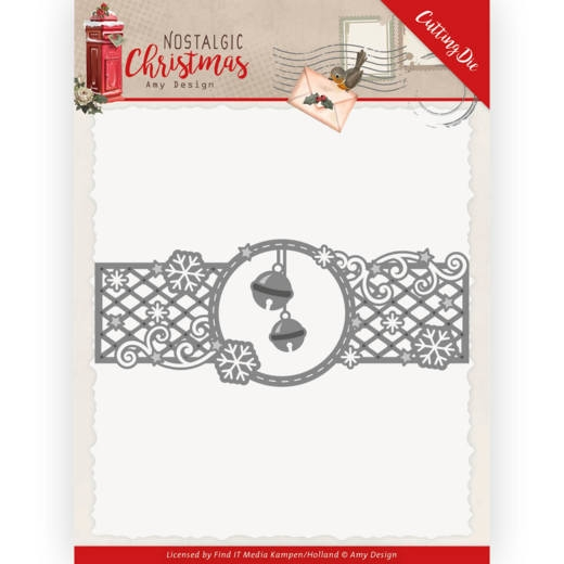 Amy Design- Dies- Bells Border: ADD10223