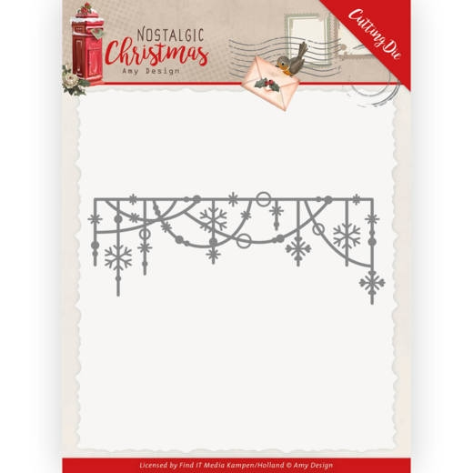 Amy Design- Dies- Hanging Snowflakes: ADD10224